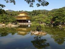 Templo de oro en Kyoto, parque Fotografía de archivo