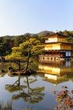 Templo de oro Kyoto Japón de Kinkakuji Imagen de archivo libre de regalías