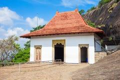 Templo de oro de la cueva de Dambulla foto de archivo