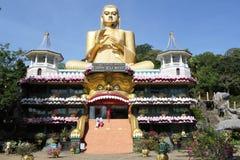 Templo de oro, Sri Lanka Fotos de archivo libres de regalías