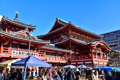 Templo de Osu Kannon em Nagoya Fotografia de Stock Royalty Free