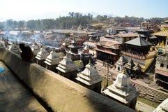 Templo de Pashupatinath en Katmandu Imágenes de archivo libres de regalías