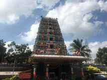 Templo de Pedamma en Hyderabad, la India Imagen de archivo