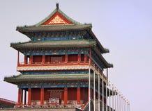 Templo de Pekín Tiananmen. imagen de archivo libre de regalías