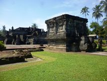 Templo de Penataran Imagen de archivo libre de regalías