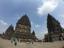 Templo de Perambanan Foto de Stock Royalty Free