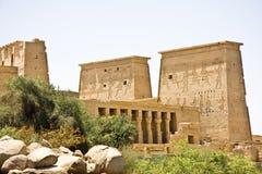 Templo de Philae Imagenes de archivo