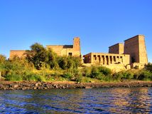 Templo de Philae foto de stock royalty free