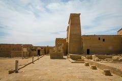 Templo de Philae, templo do Isis fotos de stock
