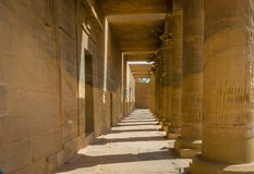 Templo de Philae, templo do Isis imagens de stock royalty free
