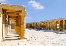 Templo de Philae do Isis na ilha de Agilkia no lago Nasser, Aswan, Egito, Norte de África imagem de stock