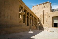 Templo de Philae, templo do Isis nile fotos de stock royalty free