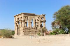 Templo de Philae, Egipto imagens de stock