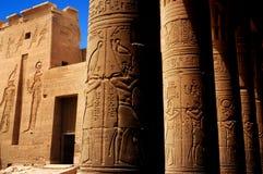 Templo de Philae, Egipto fotografia de stock royalty free