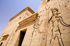 Templo de Philae em Egipto imagem de stock