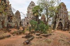 Templo de Phnom Banan en Battambang en Camboya Fotos de archivo