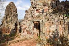 Templo de Phnom Banan en Battambang en Camboya Foto de archivo libre de regalías