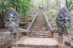 Templo de Phnom Banan en Battambang en Camboya Foto de archivo