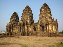 Templo de Phra Prang Sam Yod Foto de archivo libre de regalías