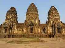 Templo de Phra Prang Sam Yod Imágenes de archivo libres de regalías