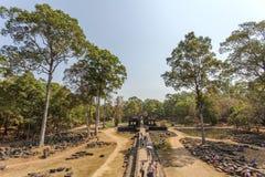 Templo de Phuon de los vagos, Angkor Thom, Siem Reap, Camboya Imágenes de archivo libres de regalías
