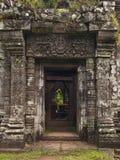 Templo de piedra antiguo Imagen de archivo libre de regalías