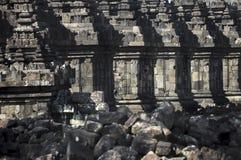 Templo de Plaosan imagem de stock