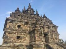Templo de Plaosan indonésia Arquitetura antiga indonésia imagem de stock royalty free