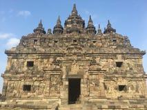 Templo de Plaosan indonésia Arquitetura antiga buddhist fotos de stock