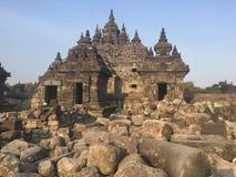 Templo de Plaosan indonésia Ruínas antigas Arquitetura buddhist foto de stock royalty free