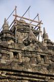 Templo de Plaosan, Yogyakarta, Indonesia Imagen de archivo libre de regalías