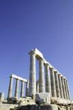 Templo de Poseidon Foto de archivo