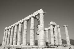 Templo de Poseidon Imagen de archivo