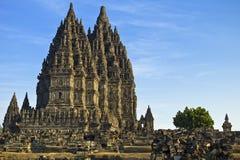 Templo de Prambanan Fotografia de Stock