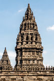 Templo de Prambanan Foto de Stock Royalty Free