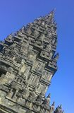 Templo de Prambanan fotografia de stock royalty free