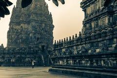 Templo de Prambanan Imagem de Stock