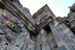 Templo de Prambanan de Yogyakarta Fotografía de archivo libre de regalías