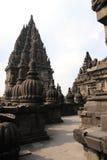 Templo de Prambanan em Jogyakarta Indnesia Fotografia de Stock