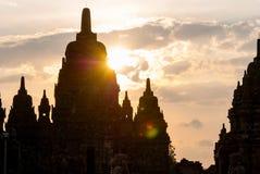 Templo de Prambanan, Yogjakarta, Indonesia Fotos de archivo