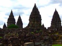 Templo de Prambanan, Yogyakarta - Indonesia imagenes de archivo