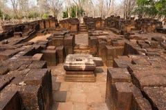 Templo de Prasat Muang Singh Imágenes de archivo libres de regalías