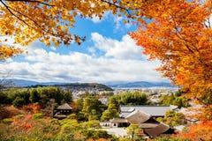 Templo de prata do pavilhão em Kyoto, Japão Fotografia de Stock Royalty Free