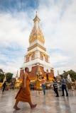 Templo de Pratat Panom, Nakorn Panom, Tailandia Fotografía de archivo libre de regalías