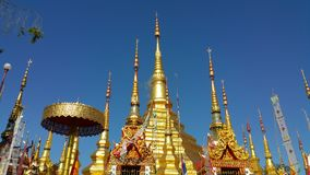 Templo de Prathat Lampang Luang Imagenes de archivo