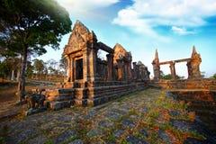 Templo de Preah Vihear Imágenes de archivo libres de regalías