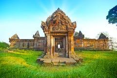 Templo de Preah Vihear Foto de archivo