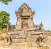 Templo de Preah Vihear Fotos de Stock Royalty Free