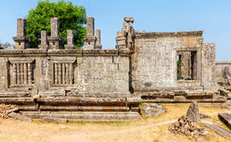 Templo de Preah Vihear Imagens de Stock