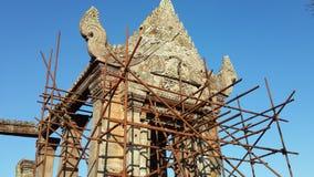 Templo de Preah Vihear en la montaña Imagen de archivo libre de regalías